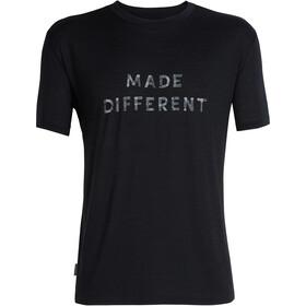 Icebreaker Tech Lite Made Different t-shirt Heren, black